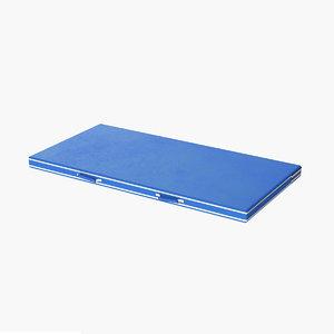 realistic gymnastic floor mat 3D