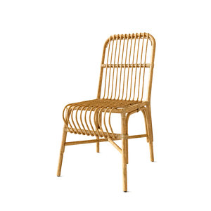 valerie vintage rattan chair 3D model