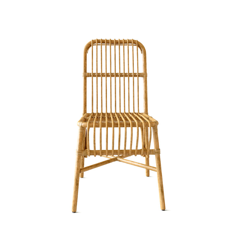 ... Valerie Vintage Rattan Chair 3D Model ...