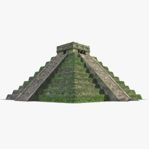 pyramid modeled model