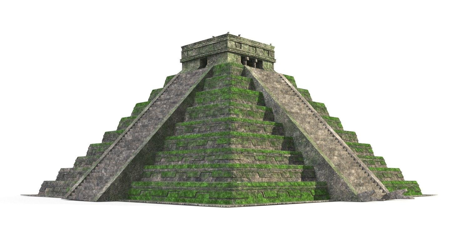 pyramid modeled model