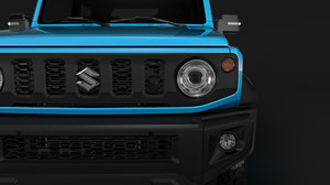 3D suzuki jimny sierra jc model