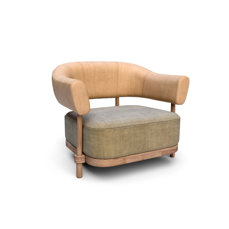 3D christophe delcourt gum armchair