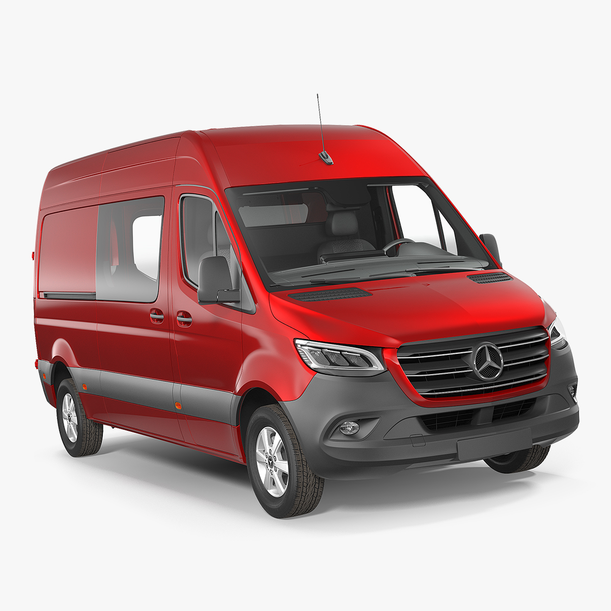 mercedes sprinter van 2019 3D model