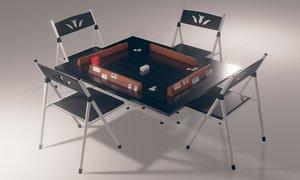 3D rummikub table model