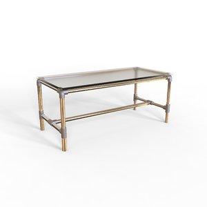 3D model cool table scaffolding