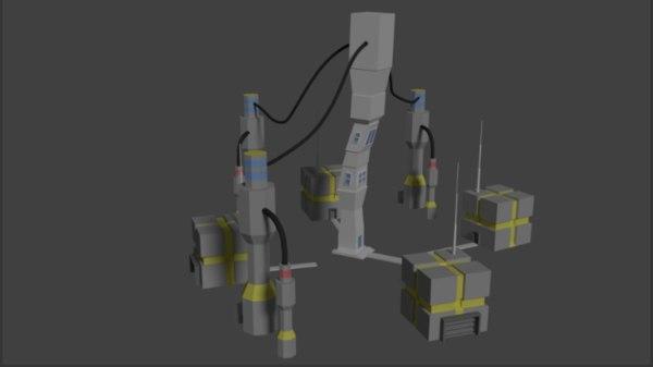 labo 3D model
