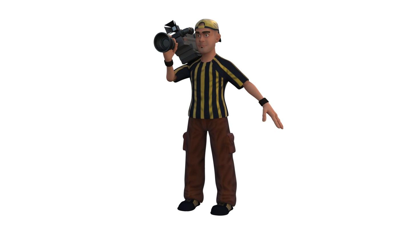 cameraman model