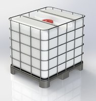 intermediate bulk container ibc 3D model