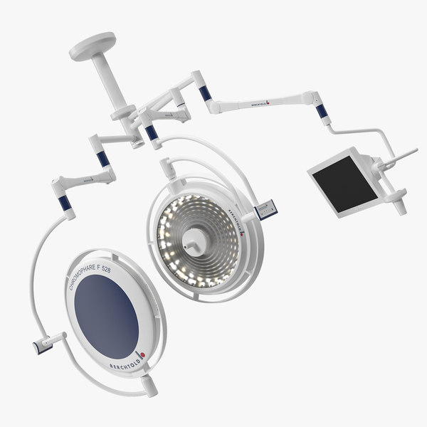 berchtold chromophare ceiling mount 3D model