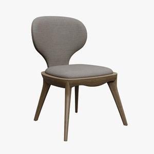 furniture chair seat 3D