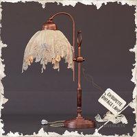 3D table lamp chaupette vintage model