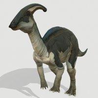 3D jurassic dinosaurs