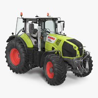 3D new tractor claas axion