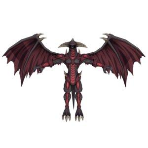red dragon archfiend 3D model