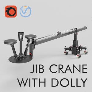 crane dolly 3D model