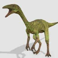3D model compy dinosaurs jurassic