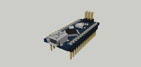 nano board 3D model