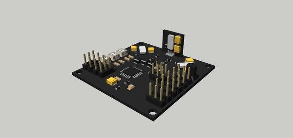 kk 2 board 3D model