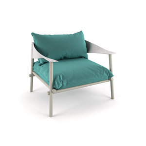 terramare lounge chair 3D model