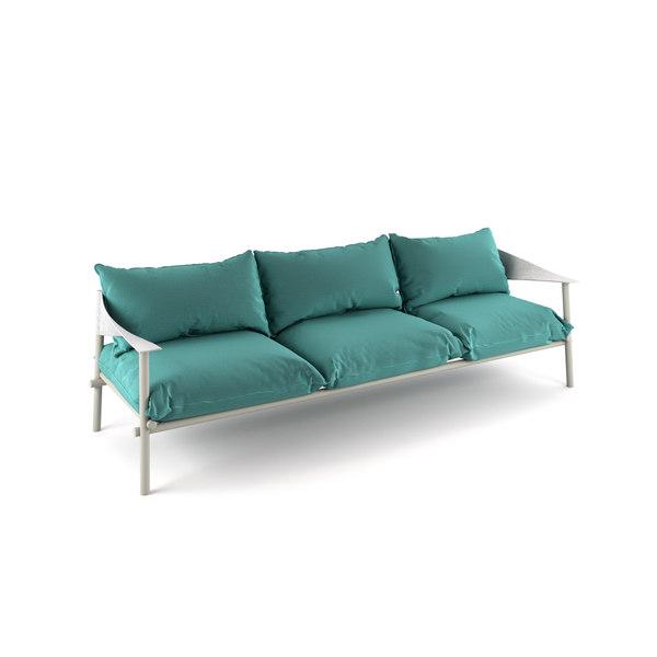 terramare seats sofa 3D model