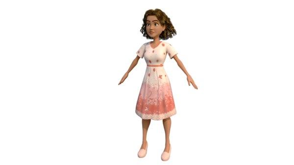 girl 3D