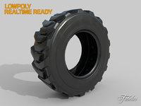 loader tyre 3D model