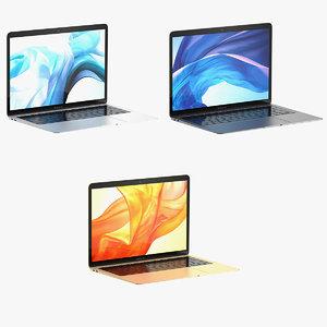 3D apple macbook air 2018 model