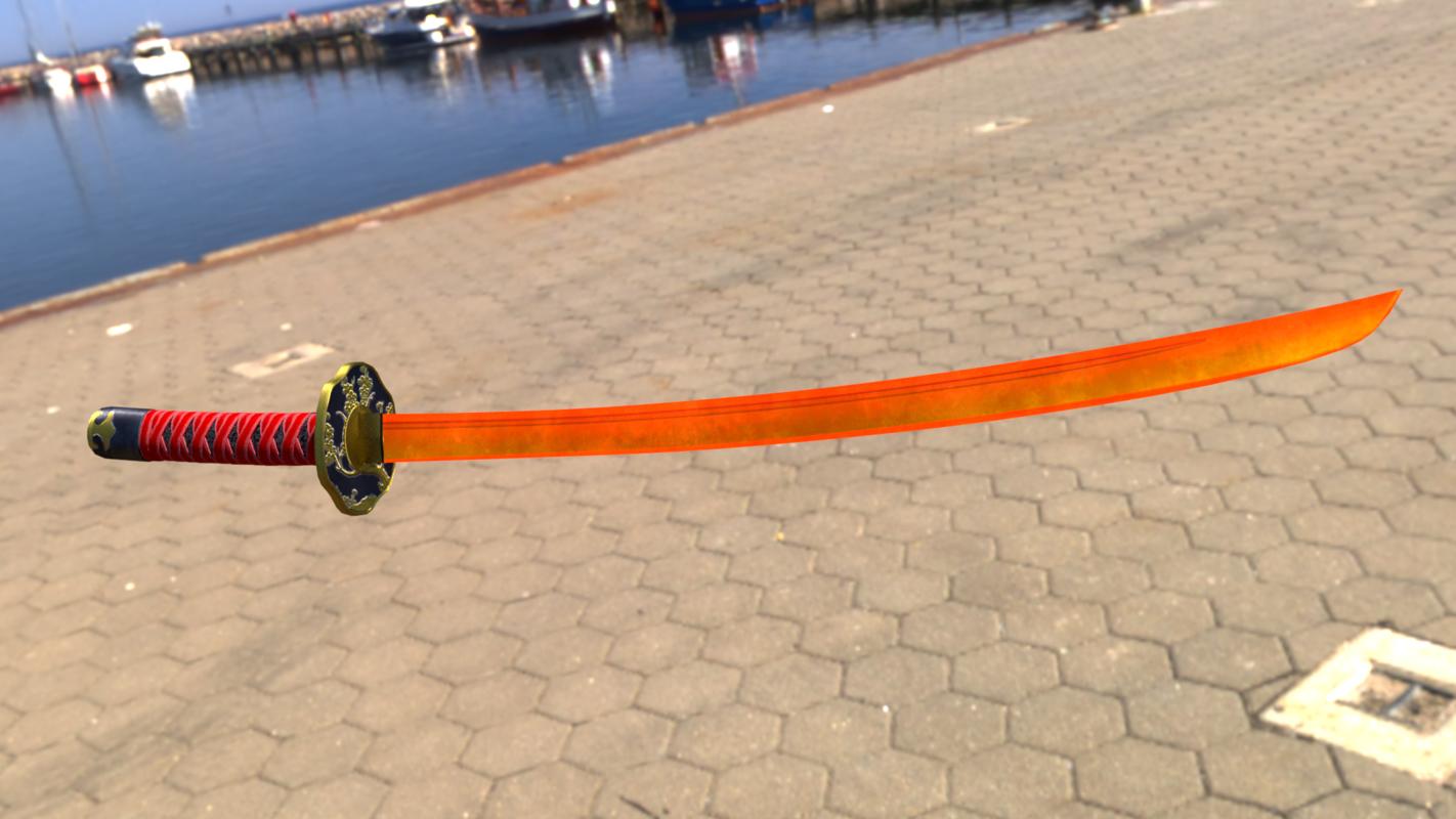 3D katana