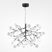3D led chandelier crystal lux model