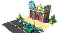 3D store music