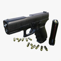 3D glock gun