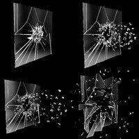 Glass Crash Animation