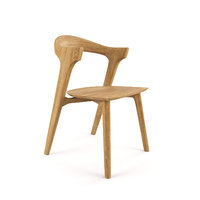 ethnicraft oak bok dining chair 3D model