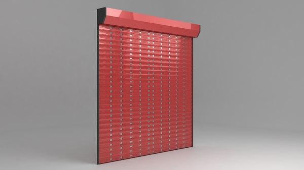 garage electric shutters model
