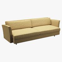 3D sofa realistic photorealistic model