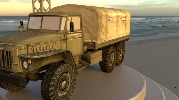 3D general utility truck