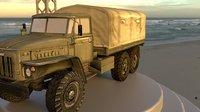 3D general utility truck