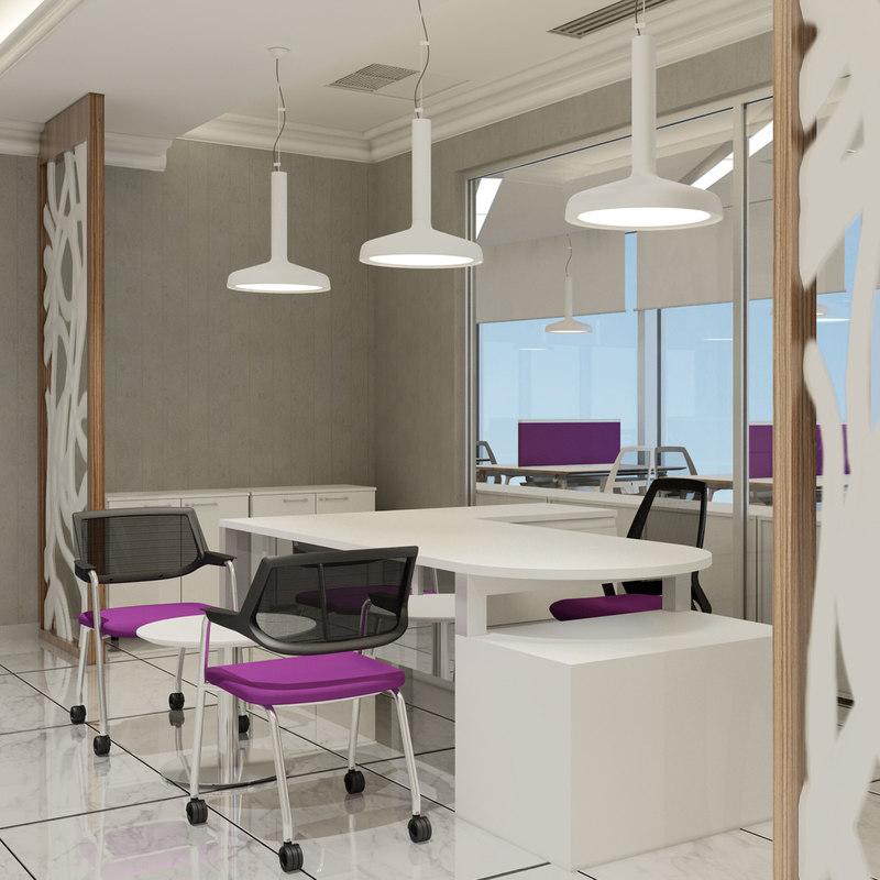 office interior v2 3D