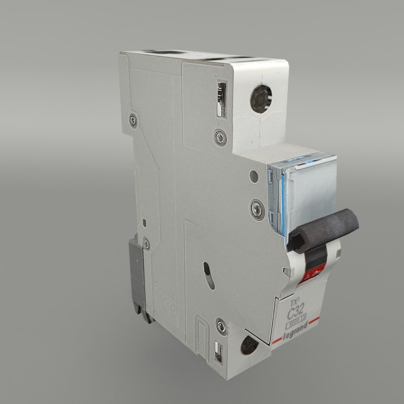 circuit breaker 3d model turbosquid 1366368 rh turbosquid com Circuit Breaker Box circuit breaker box 3d model