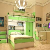 Teen Room Interior 01