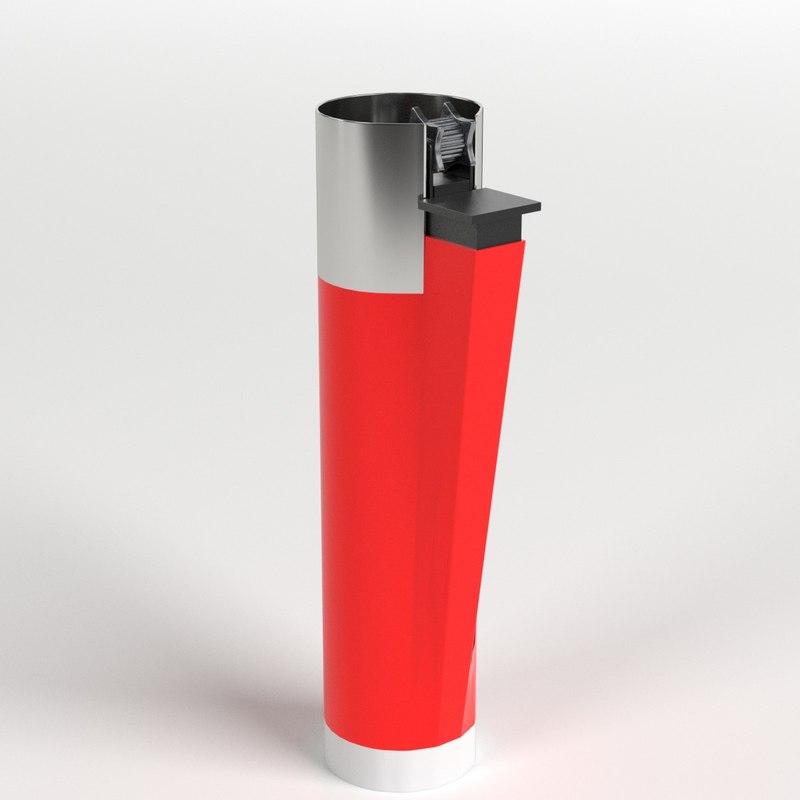 3D lighter ready