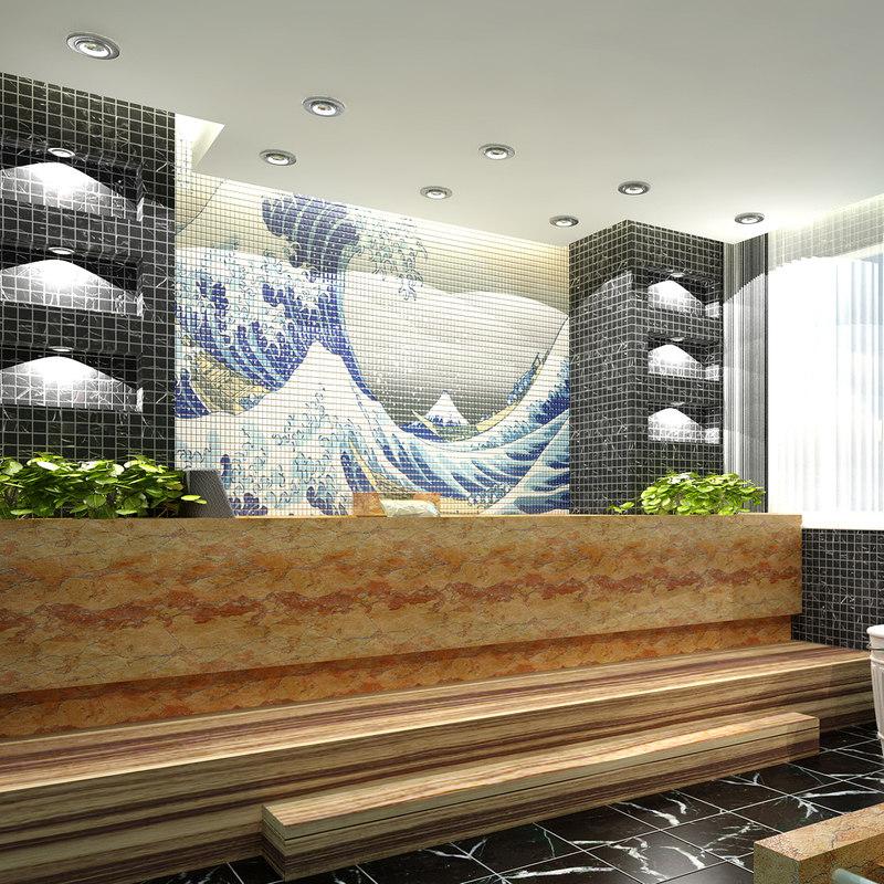 bathroom interior model