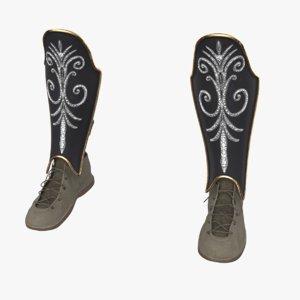 3D maximus boots model