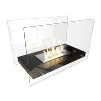 3D bio fireplace model