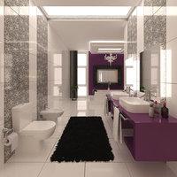 bathroom interior 3D