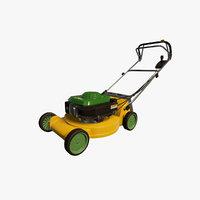 prop lawn mower model