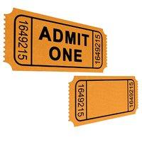 3D movie ticket model