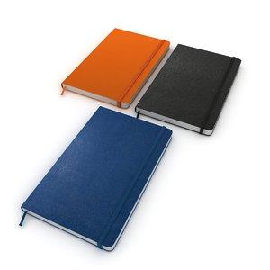 moleskine book notebook 3D