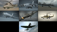 3D aircraft pack model